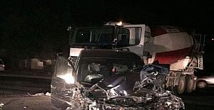 Zincirleme kazada 2 kişi yaralandı