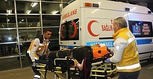 Adıyaman'da 2 otomobil çarpıştı: 8 yaralı