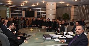 AK Parti Kaynaşlı teşkilatından başkana ziyaret