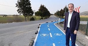 Akköy-Karahayıt arası yol asfaltlandı