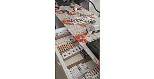 Aliağa'da bin 193 adet kaçak sigara ele geçirildi