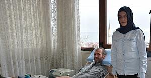 ALS hastası Bekir öğretmenden öğrencilerine selam var
