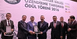 Arapgir Belediyesi'ne başarı ödülü