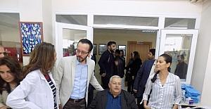 Aydın'da profesörler hastaların ayağına geldi