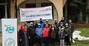 Bartın'da 'Sağlıklı Yaşam İçin Tabiat Yürüyüşü' yapıldı