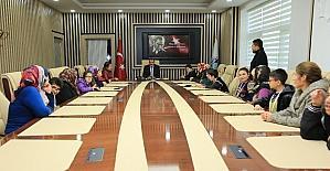 Başarılı sporculardan Başkan Gürkan'a ziyaret