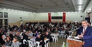 Başkan Alıcık, 24 Kasım'da öğretmenlerle bir araya geldi