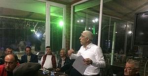 Başkan Asa Boyalıca'da zeytin üreticisiyle buluştu