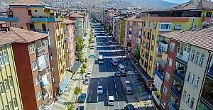 Başkan Çakır Tevfik Temelli Caddesinde incelemelerde bulundu