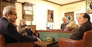 Başkan Fevzi Demirkol'da vefa örneği