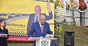 """Başkan Mustafa Pala: """"Projelerimizle konuşuyoruz"""""""