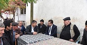 Başkan Yılmaz, Bakacak'ta vatandaşlarla buluştu