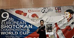 Biga'lı Çakıroğlu Avrupa üçüncüsü