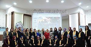 Bozüyük'te AK Parti 5. Kadın Kolları Kongresi yapıldı