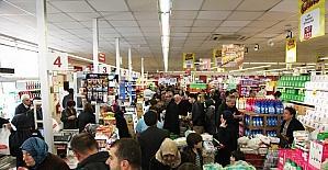 Bursa'da alışveriş çılgınlığı
