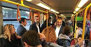 Bursa'da toplu taşıma ücretlerine yüzde 10 indirim geldi