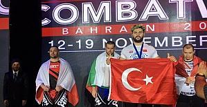 Bursalı milli sporcudan tarihi başarı