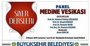 Büyükşehir'den panele davet