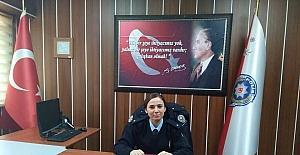 Daday'ın ilk kadın komiseri görevine başladı