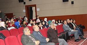 Develi'de uyku bozukluğu semineri