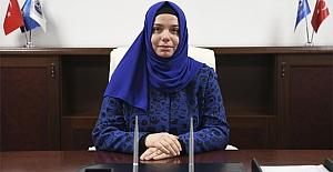 İlk kadın başkan yardımcısı görevine başladı