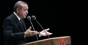 Erdoğan'dan mezunlara anlamlı konuşma