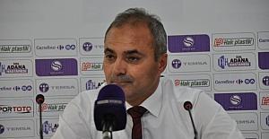 """Erkan Sözeri: """"Adana Demirspor deplasmanından 1 puanla ayrılmak sevindirici"""""""