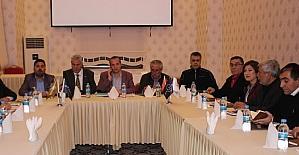 Gazeteciler sorunlarını Mardinde...