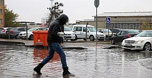 Gaziantep'te kış kendini hissettirdi