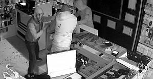 Hırsızlar kısa sürede binlerce liralık telefonu çaldı