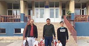 Kargı Ülkü Ocakları'ndan öğrencilere bot yardımı
