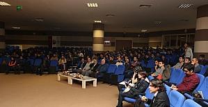 KBÜ'de 'Demiryollarında Tahribatlı ve Tahribatsız Test Uygulamaları' seminerİ