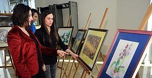 Kepez'de 24 Kasım resim sergisi