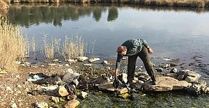 Kuşadası Dilek Yarımadası Milli Parkı'nda çevre temizliği yapıldı