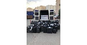 Midyat'ta 45 bin 750 kaçak sigara ele geçirildi