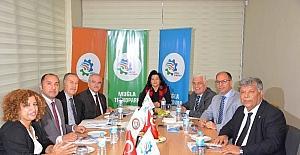 Muğla Teknopark Yönetim Kurulu Ortaca'da toplandı