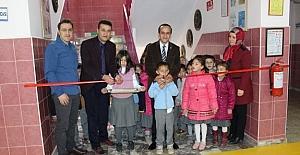 Mustafa Kemal İlkokulu'nda 'Trafik Eğitim Koridoru' açıldı