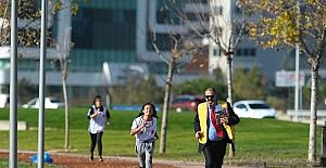 Öğrenciler diyabete dikkat çekmek için koştu