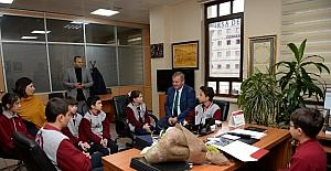 Öğrencilerden Osmangazi'ye ziyaret