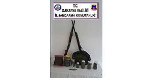 Sakarya'da 1 kilo 368 gram kubar esrar ele geçirildi