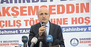 """Şimşek: """"Ekonomik anlamda Türkiye'ye karşı bir provokasyon içindeler"""""""