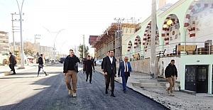 Şırnak Belediye Başkanı Bedirhanoğlu incelemelerde bulundu