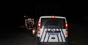 Sultangazide baz istasyonunda yangın