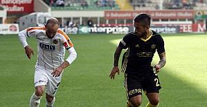 Süper Lig: A. Alanyaspor: 1 - E. Y. Malatyaspor: 0