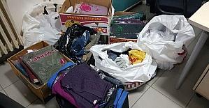 Tekstil malzemesi yüklü araçları çalan hırsızlar yakalandı