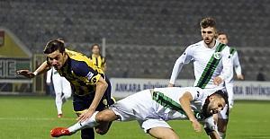 TFF 1. Lig: MKE Ankaragücü: 2 - Denizlispor: 1