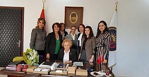 TOBB Gaziantep Kadın Girişimcilerden Nüket Ersoy'a anlamlı ziyaret
