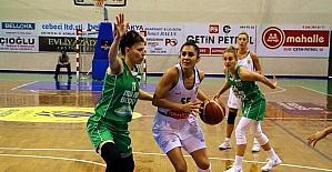 Türkiye Kadınlar Basketbol Ligi: Edremit Bld. Gürespor: 73 - Bursa Bşb. Budo: 63