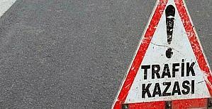 Uşakta trafik kazası; 1 ölü,...
