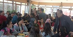 YBO öğrencileri Van kahvaltısıyla tanıştı